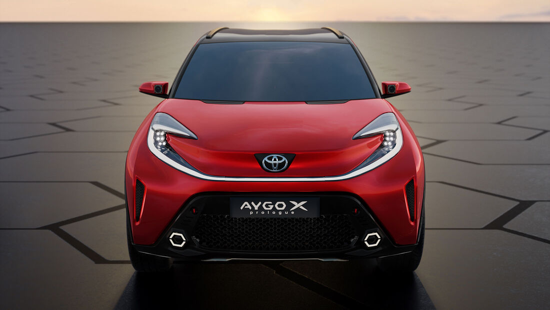 03/2021, Toyota Aygo X Prologue