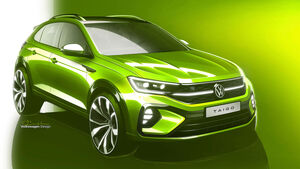 03/2021, VW Taigo Design Skizze