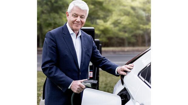 03/2021, Werner Frey Geschäftsführer Mitsubishi MMD Automobile GmbH