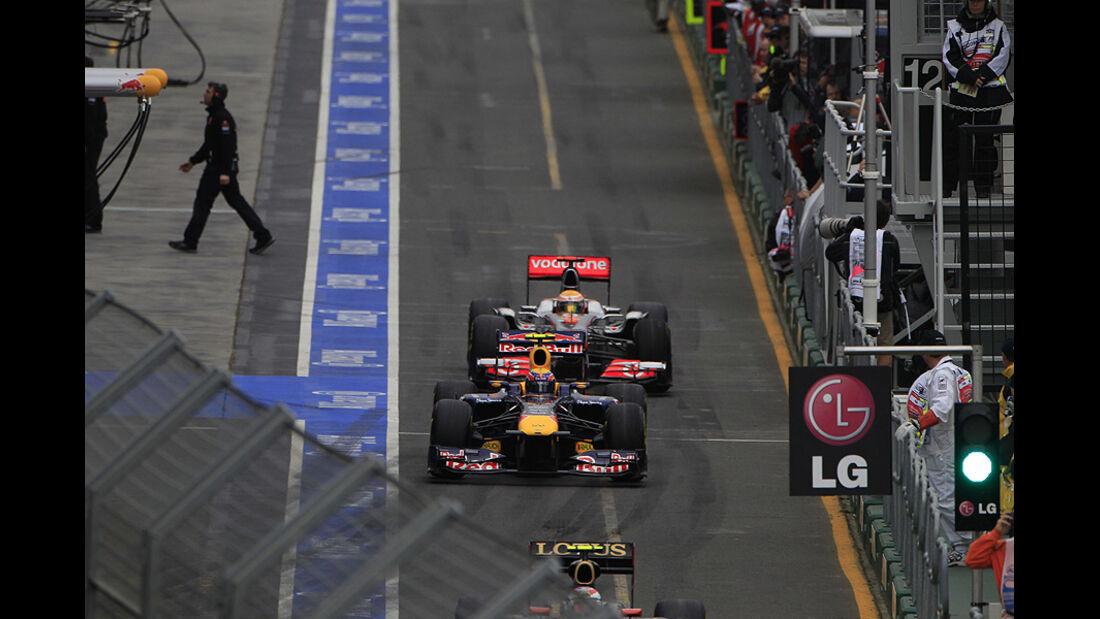 04/11 Formel 1, Überholmanöver