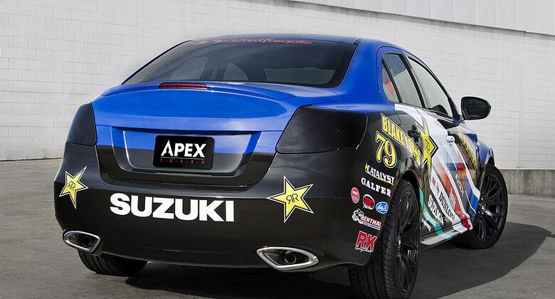 04/11 Suzuki Kizashi Apex Concept New York Auto Show