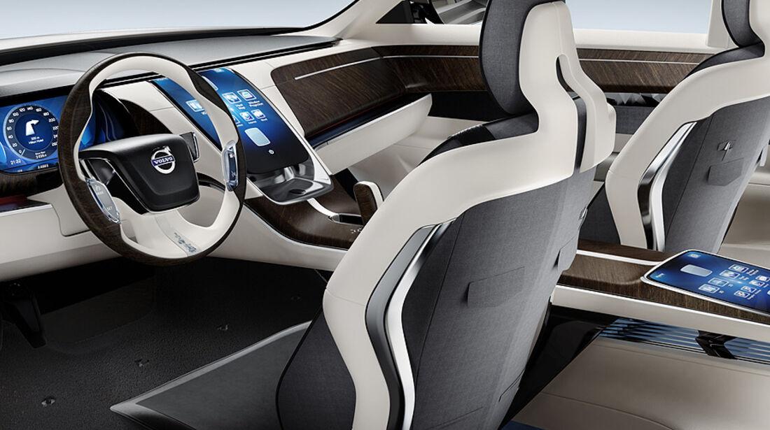 04/11 Volvo Concept Universe, Shanghai Auto Show, Innenraum