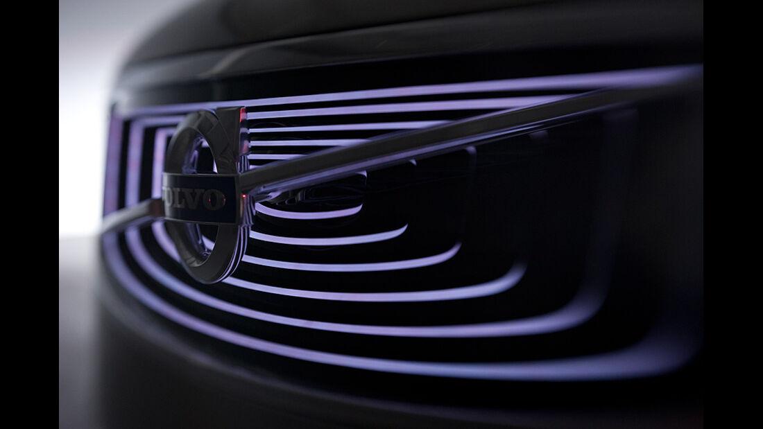 04/11 Volvo Concept Universe, Shanghai Auto Show, Kühlergrill