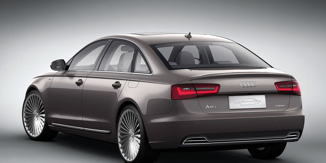04/2012, Audi A6 L E-Tron Concept Auto China