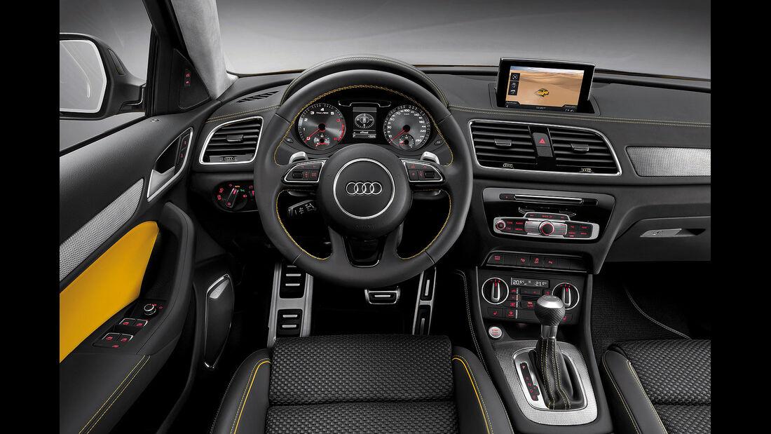 04/2012, Audi Q3 Jinglong Yufeng Concept Auto China, Innenraum