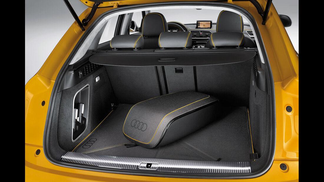 04/2012, Audi Q3 Jinglong Yufeng Concept Auto China, Kofferraum