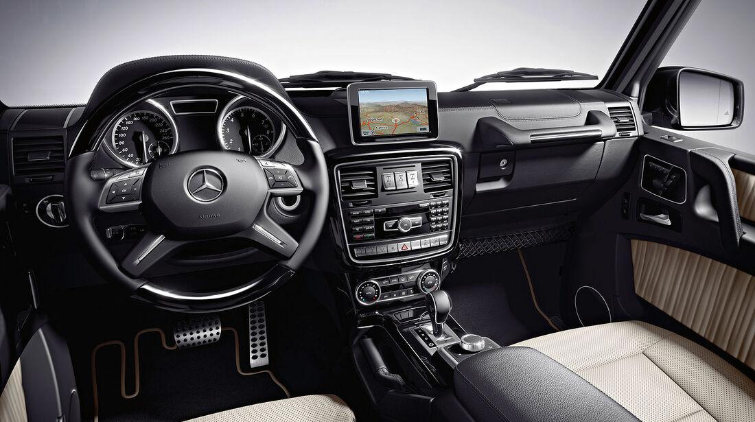 04/2012, Mercedes G-Klasse, Innenraum