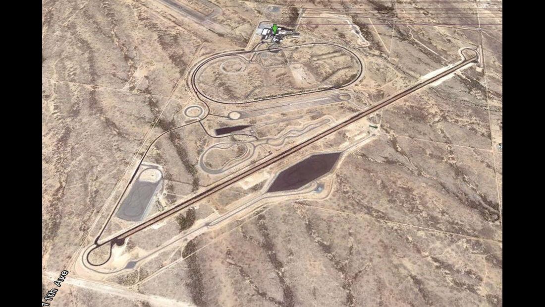 04/2012, Teststrecke, Ford Arizona