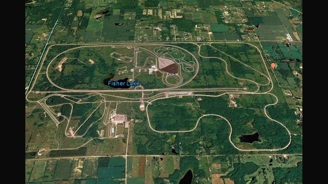 04/2012, Teststrecke, Ford Michigan