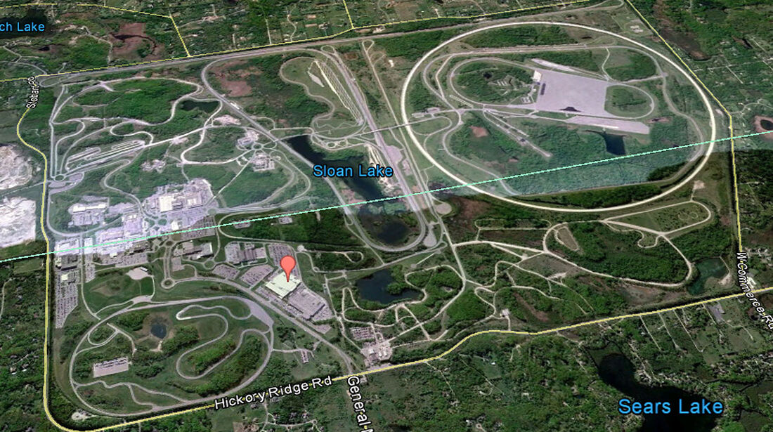 04/2012, Teststrecke, GM Milford Michigan
