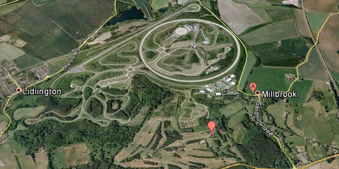 04/2012, Teststrecke, Lotus, Milbrook, England