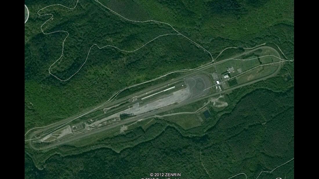 04/2012, Teststrecke, Mitsubishi Tokachi