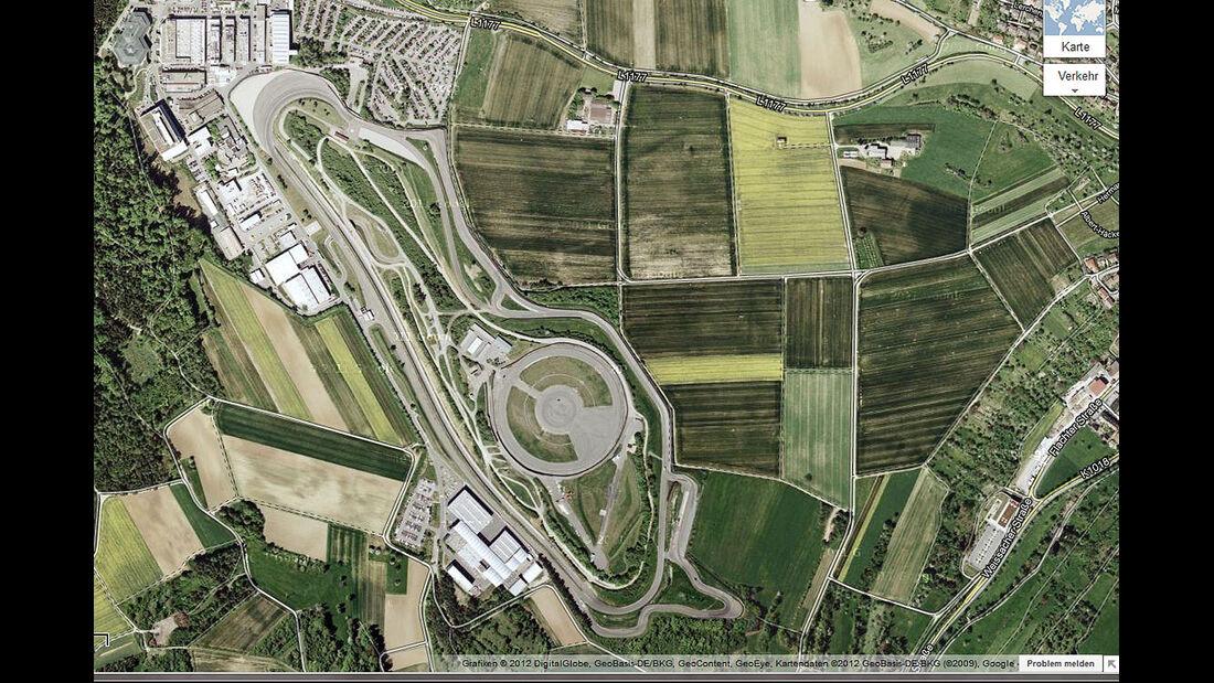 04/2012, Teststrecke, Porsche weissach