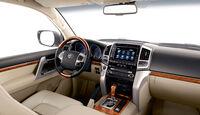 04/2012, Toyota Land Cruiser V8, facelift, Innenraum