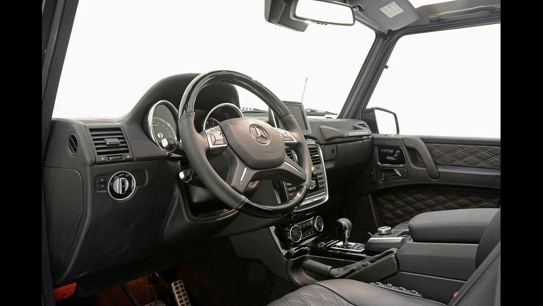 04/2014 Brabus Mercedes G500 Cabrio Wide-Body