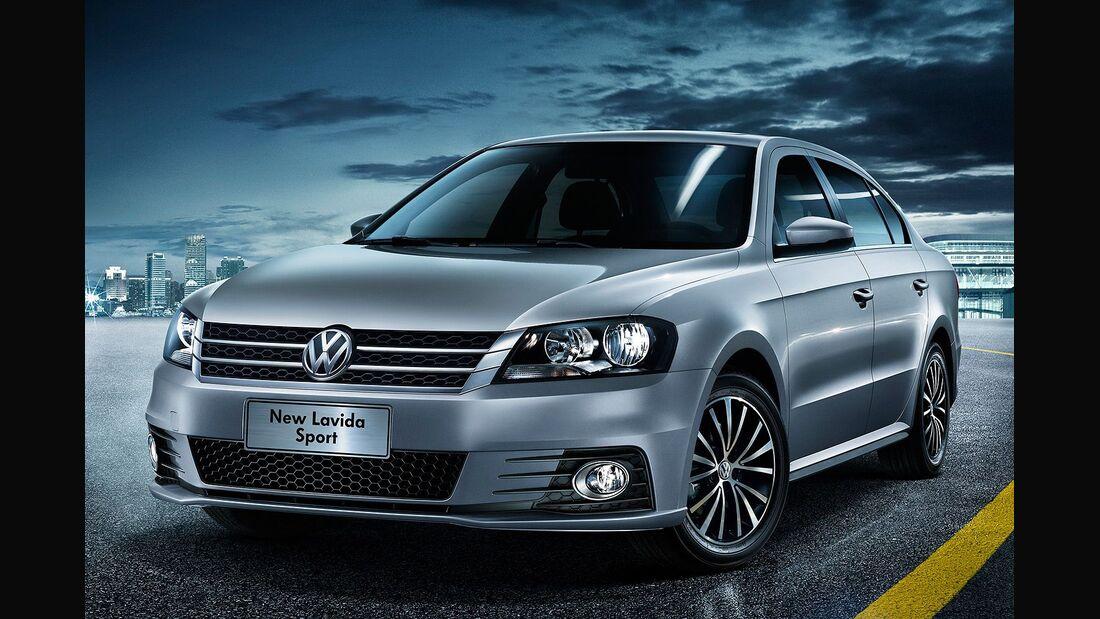 04/2014, China, VW Lavida