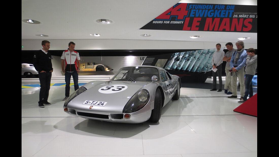 04/2014 - Dirk Johae-Blog, Bar Parco, Porsche Museum Le Mans