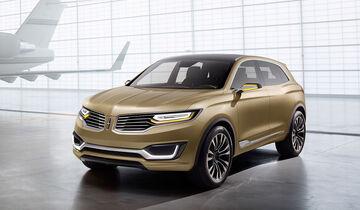 04/2014 Lincoln MKX Concept Peking Motor Show