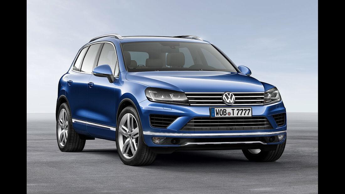 04/2014 VW Touareg Facelift Sperrfrist 17.4.2014 00.00 Uhr