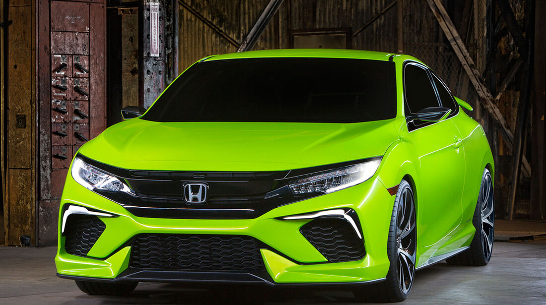 04/2015 Honda Civic Concept Coupé USA