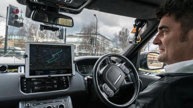 04/2018, Jaguar Land Rover AutopleX Projekt