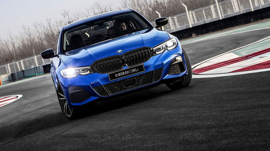 04/2019, BMW 3 Series Li versión larga China