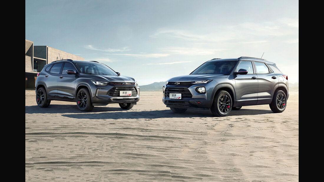 04/2019, Chevrolet Tracker und Trailblazer