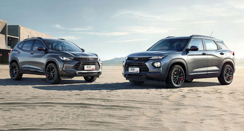 04/2019, Chevrolet Tracker und Trailblazer