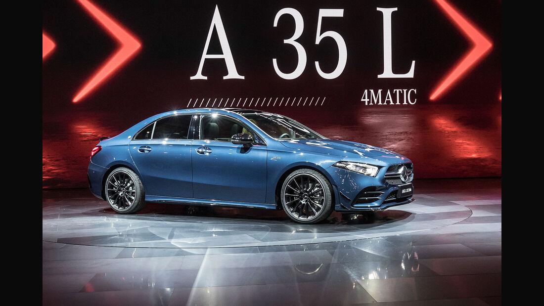 04/2019, Mercedes-AMG A 35 L 4Matic Limousine