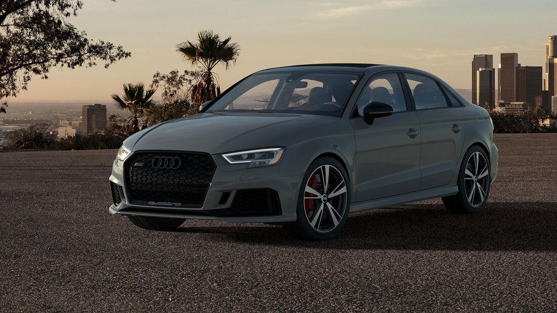 04/2020, Audi RS3 Limousine Nardo Edition