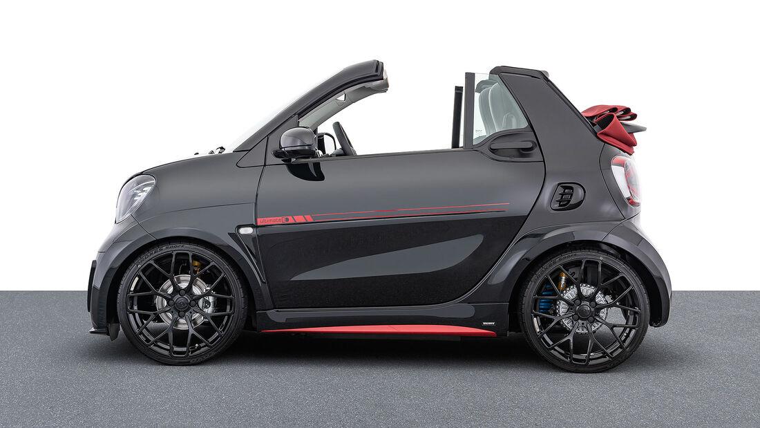 04/2020, Brabus Ultimate E Facelift auf Basis Smart Fortwo EQ Cabrio