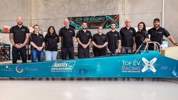 04/2020, Elektrischer Dragster von Top EV Racing