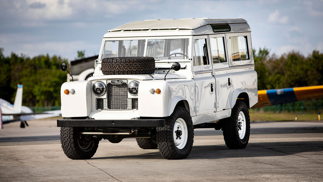 04/2020, Land Rover Defender Project Henry