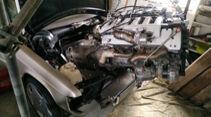 04/2020, Mercedes 190 mit V12-Motor