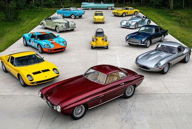 Elkhart Collection mit 240 Autos versteigert