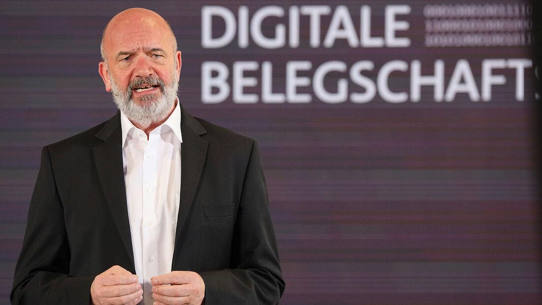 04/2021, Bernd Osterloh VW Volkswagen Betriebsrat