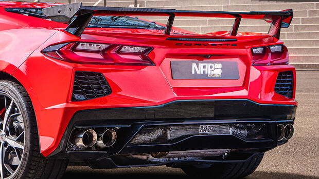 04/2021, Corvette C8 Stingray von NAP Sportauspuff Manufaktur