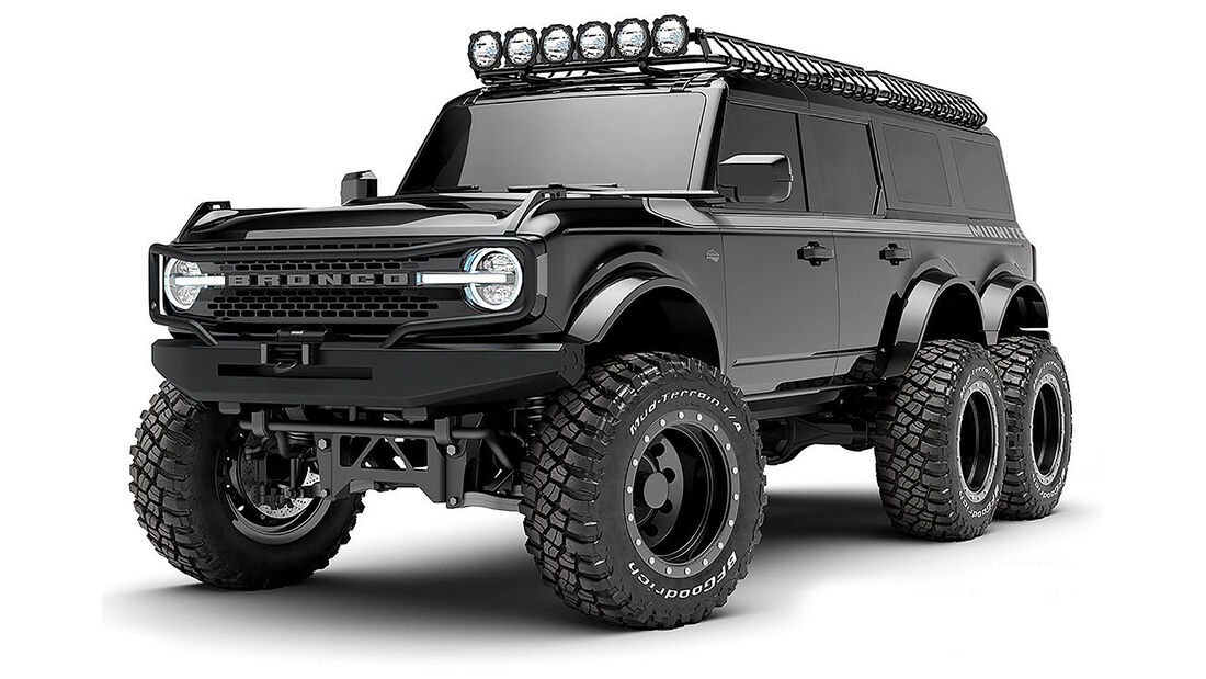04/2021, Ford Bronco 6x6 von Maxlider Motors