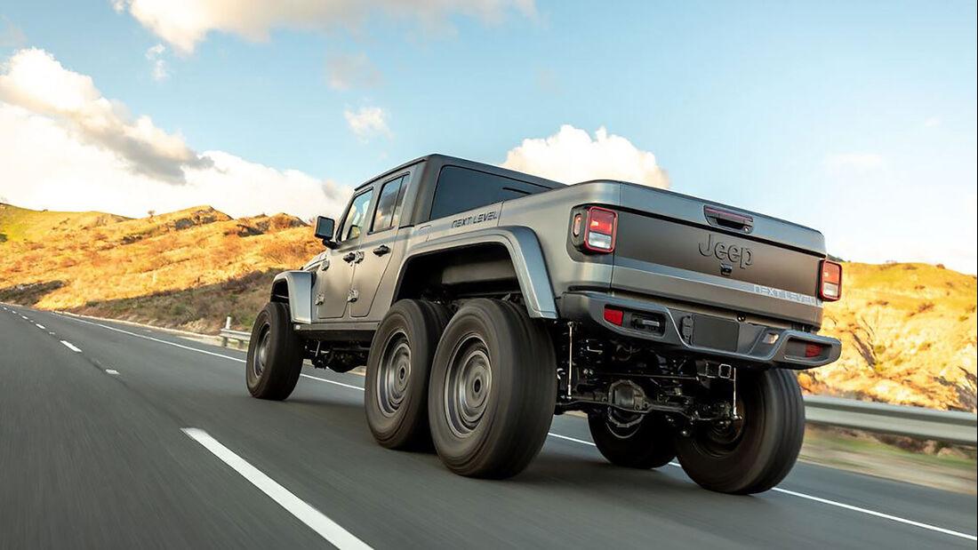 04/2021, Jeep Gladiator 6x6 von Next Level Offroad