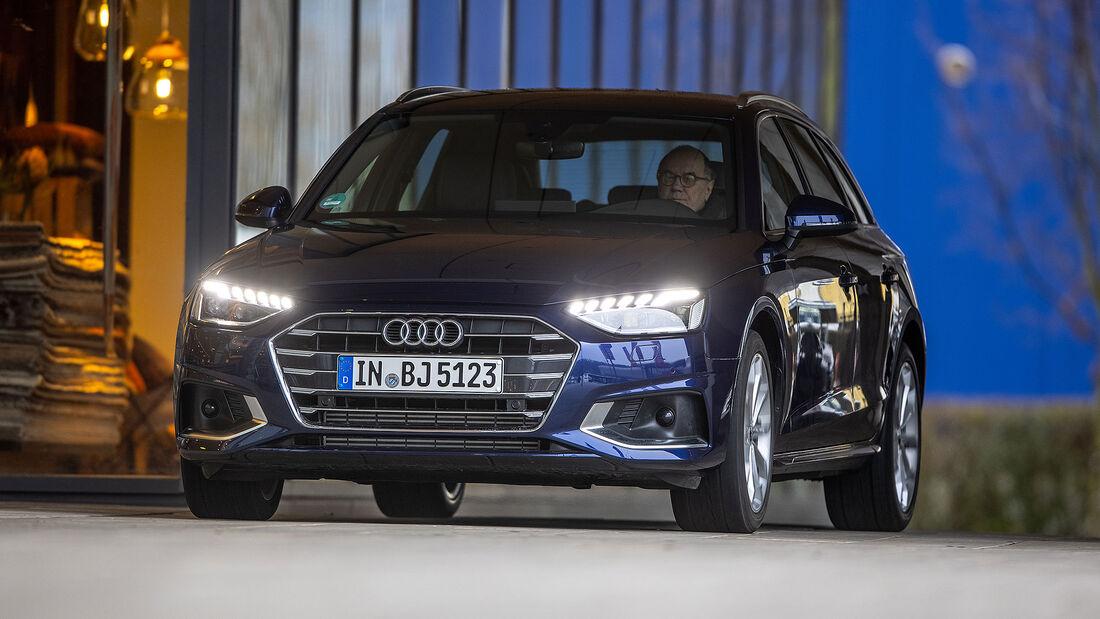 04/2021, Kosten und Realverbrauch Audi A4 Avant 40 TFSI Advanced
