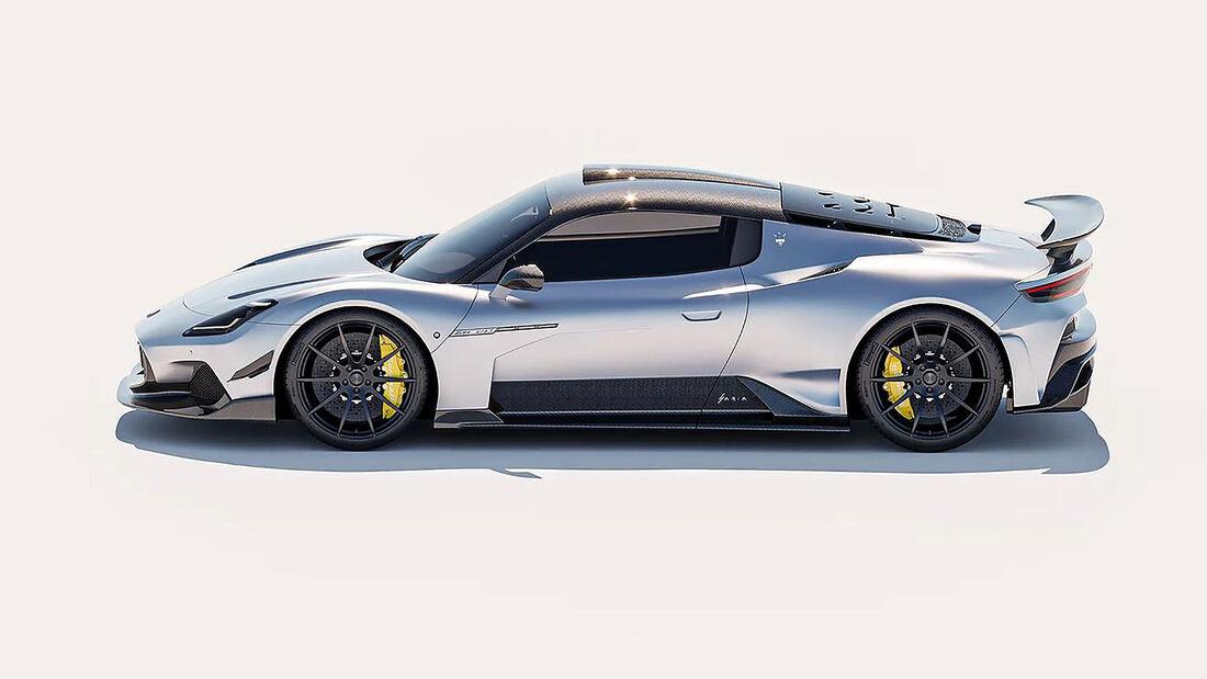 04/2021, Maserati MC20 von 7 Design Studio