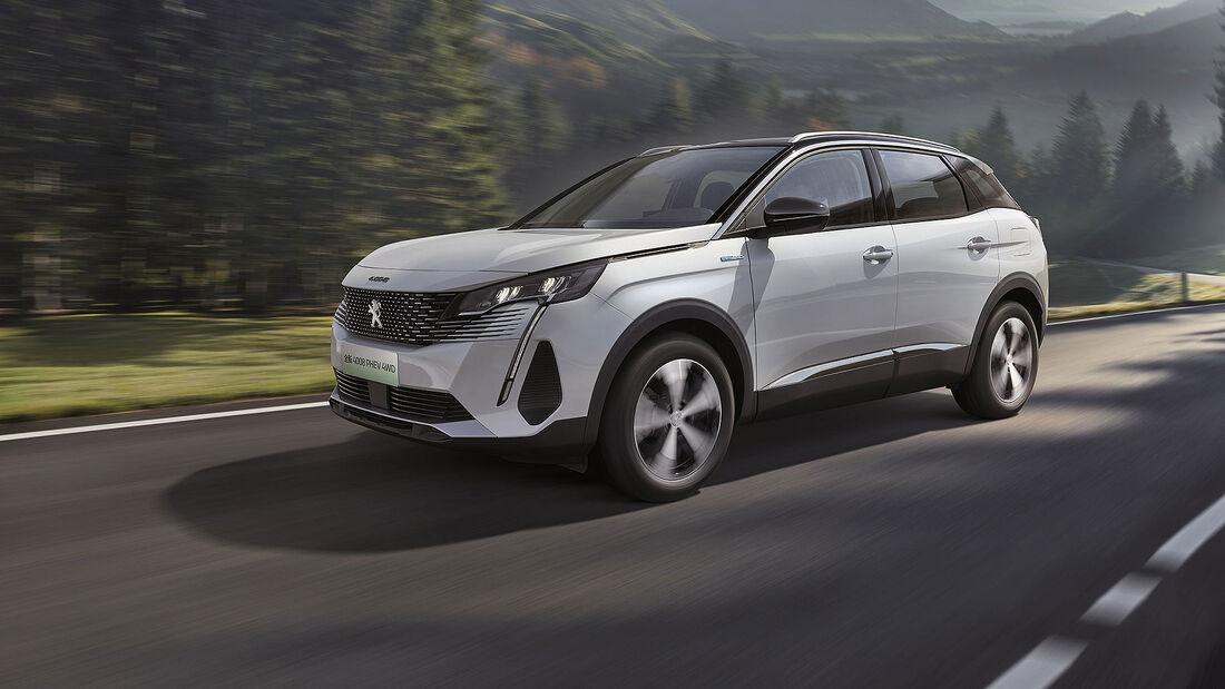 04/2021, Peugeot 4008 Plug-in-Hybrid PHEV China