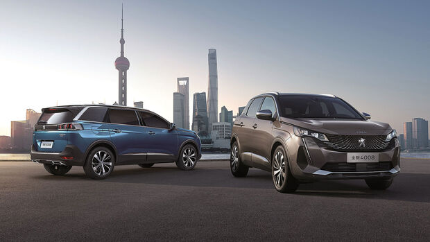 04/2021, Peugeot 4008 und 5008 China