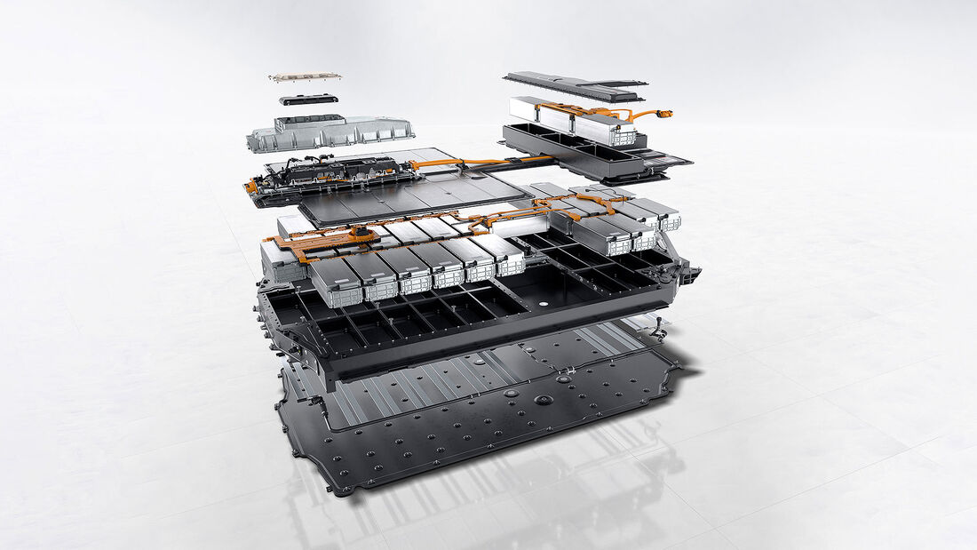 04/2021, Porsche Taycan Turbo S Batterie Akku