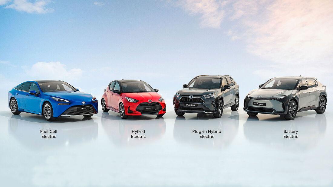 04/2021, Toyota Elektroauto-Strategie Beyond Zero