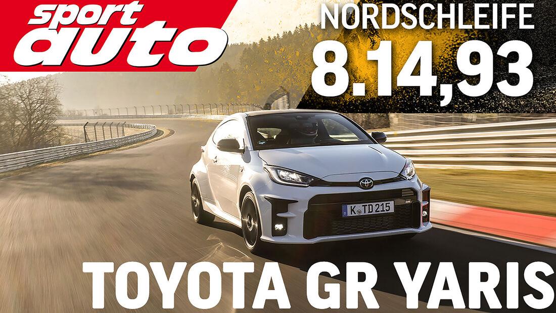 04/2021, Toyota GR Yaris sport auto Supertest Rundenzeit Nürburgring Nordschleife