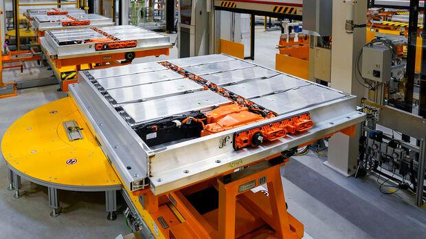 04/2021, VW Volkswagen Fertigung Elektroauto Batterien Braunschweig