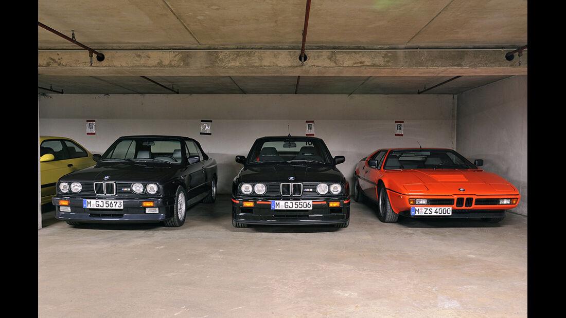 05/11 BMW M GmbH, Prototypen, BMW M Tiefgarage