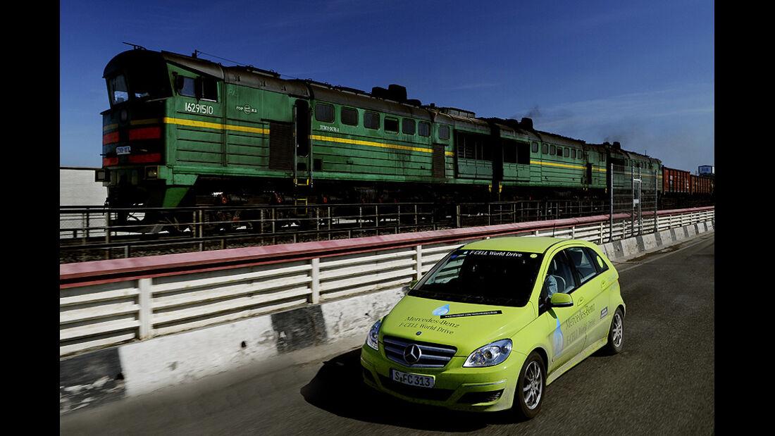 05/11 Mercedes F-Cell World Drive, 58. Tag Ufa - Kasan
