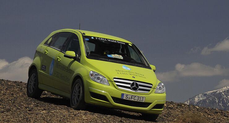 05/11 Mercedes F-Cell World Drive, B-Klasse, Brennstoffzelle, 49. Tag